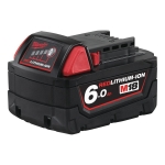 MILWAUKEE M18B6 AKUMULATOR 18V 6,0Ah li-ion 4932451244