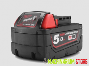 MILWAUKEE M18B5 AKUMULATOR 18V 5,0Ah 4932430483