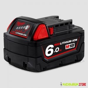 MILWAUKEE M18B6 AKUMULATOR 18V 6,0Ah 4932451244