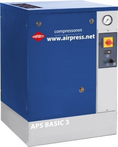 AIRPRESS KOMPRESOR ŚRUBOWY APS 3 BASIC  36803 240L/MIN 10 bar