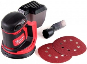 MILWAUKEE M18 BOS125-0 SZLIFIERKA MIMOŚRODOWA 125MM AKUMULATOROWA 4933464228