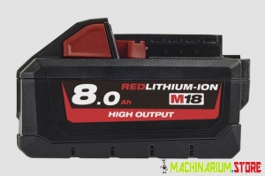 MILWAUKEE AKUMULATOR M18HB8 18V 8,0Ah 4932471070
