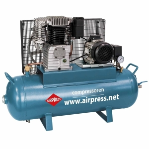 AIRPRESS KOMPRESOR TŁOKOWY K 100-450 36512-N 14 bar 2 tłoki